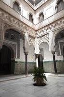 gården i reales alcazares, Sevilla foto