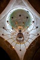 kupolen i den ortodoxa kyrkan dekorerad med ikoner foto