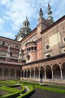 italiensk kloster certosa di pavia foto