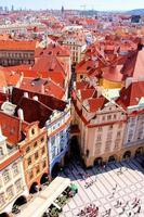 gamla stadstorget, Prag, Tjeckien foto