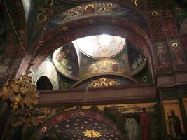 nytt aphon kloster. abkhazia foto
