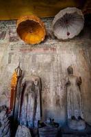 angkor wat tempel i Kambodja foto