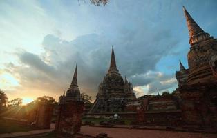 stupa eller chedi foto