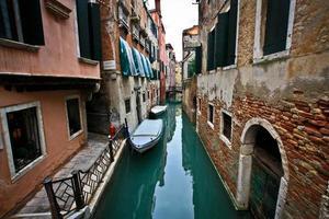 romantik i Venedig foto