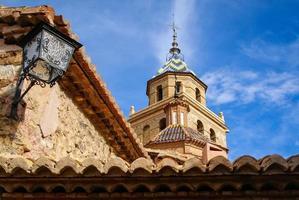 albarracin, teruel, aragon, spanien foto