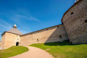 forntida fästning i staraya ladoga foto