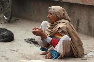 armut i indien foto