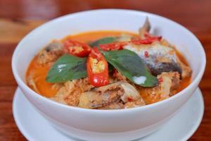 köttfisk curry foto