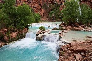 havasupai vattenfall foto