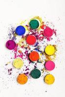 färgglada färgämnen foto