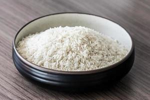 skål med ris foto