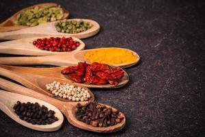 kryddor, ingredienser