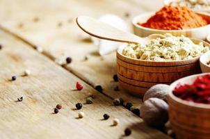 orientaliska kryddor foto