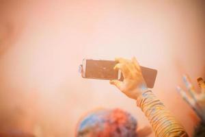 holi festival foto