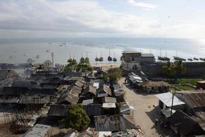 hamnen i bagamoyo foto