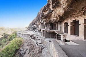 ellora grottor, aurangabad foto