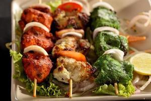kebabplattor foto
