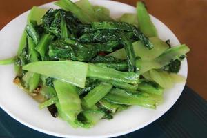omrörda grönsaker foto