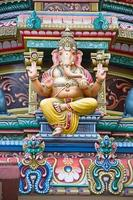 hinduiska templet i singapore foto