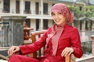 muslimska kvinnor foto