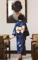 japansk kvinna foto