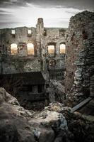 ruinerna av slottet foto