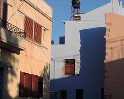 Kreta byggnader foto