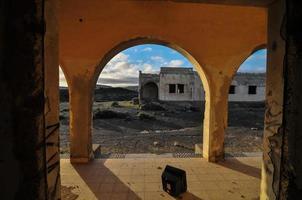 övergivna byggnader foto