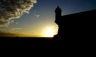 """castillo san felipe del morro """"el morro"""" i san juan puerto rico foto"""