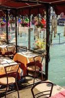 Venedig Italien - stadsdetalj