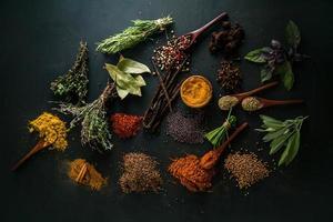 kryddor foto