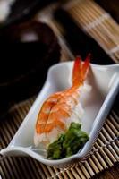 färsk japansk sushiset