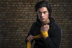malaysisk boxare foto