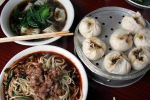 sichuanese frukost foto