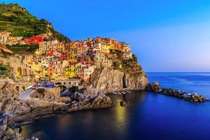 cinque terre, manarola. Italien foto