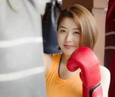lady boxare foto