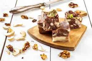traditionella orientaliska sötsaker - sherbet foto