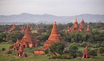 tempel i bagan foto
