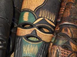 afrikansk mask foto