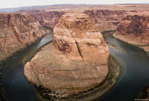 hästsko böj, Colorado River foto