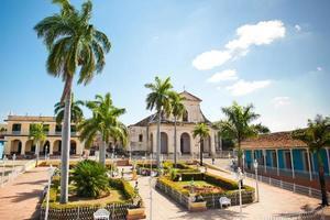 plaza borgmästare, trinidad foto
