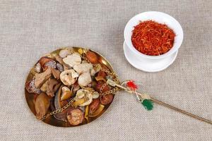 traditionell kinesisk medicin (tcm), närbild foto