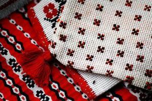 rumänska vävt tyg