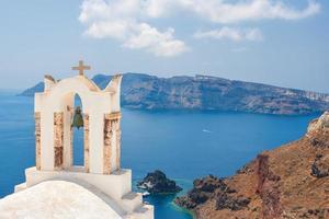 ö i santorini, Grekland foto
