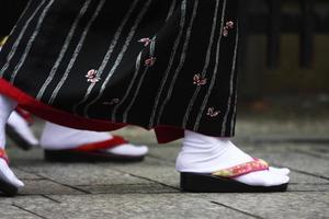 japanska skor foto