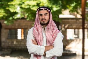 modern arabisk affärsman foto