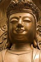 brons buddha staty