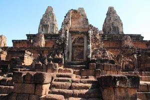 före rup i Angkor, Kambodja foto