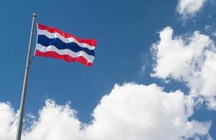 Thailand flagga foto