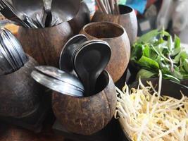 thailändsk sida maträtt foto